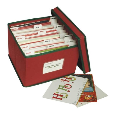organizing tips for sending out holiday greeting cards, how to